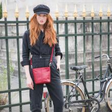 PRÉNOM ❣️- Paulette c'est le prénom de celle qui est toujours à vélo 🚲  Taguez votre amie qui est toujours à vélo 🤗 Paulette est disponible en 6 coloris : noir, miel, ardoise, bourgogne, forêt & grenade sur l'eshop ❤️ - Sac Paulette #librebelleepanouie #sabrinaparis #welovesabrinaparis #nouvellecollection
