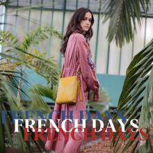 FRENCH DAYS 🇫🇷 - Du 27 mai au 2 juin, c'est les French Days chez Sabrina. Nous avons décidé de vous gâter en cette période et de vous faire profiter de nos créations à prix doux. Retrouvez la collection été à -20% et nos dernières chances à -50%. On vous aime et on vous le prouve ❤️ - Sac Nancy #frenchdays #welovesabrinaparis #librebelleepanouie