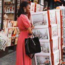 VENTES PRIVÉES 🛍 - Notre collection En Confiance est à retrouver en Ventes Privées sur le site ✨ Mathilda est à -40% sur l'eshop 🖤 - Sac Mathilda #sabrinaparis #welovesabrinaparis #librebelleepanouie #ventesprivees
